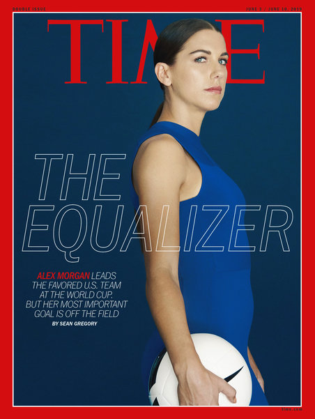 Alex morgan time cover 452 xxx q85